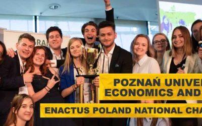 Konkurs Enactus Poland 2019 rozstrzygnięty!